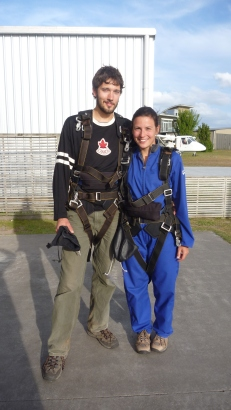 Skydiving in Taupa