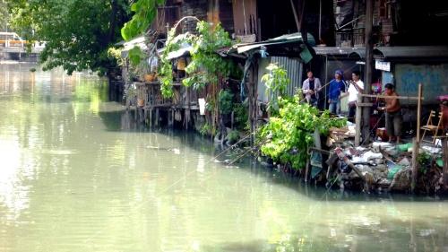 A Bangkok river