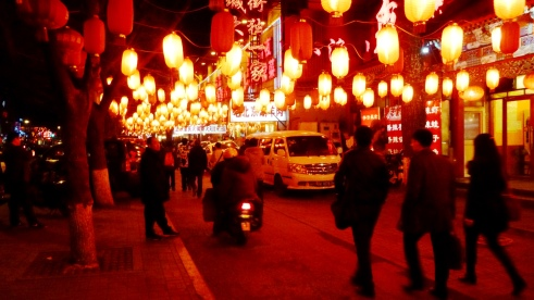 Nighttime in Beijing
