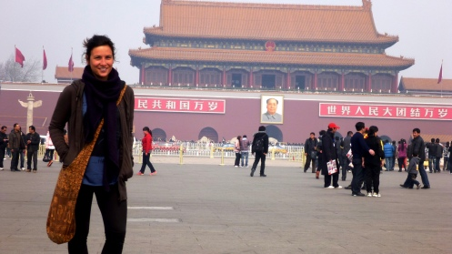 Curniss in Tiananmen Square