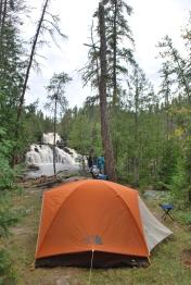 The best campsite