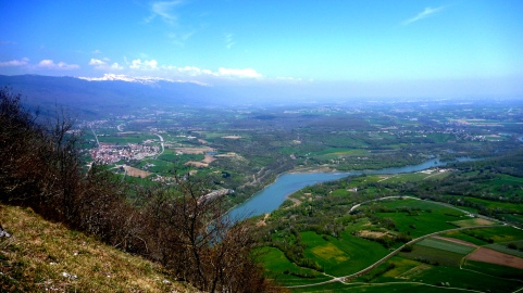 View of La Rivière du Rhône