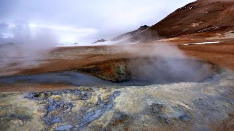 Mývatn volcanic landscape