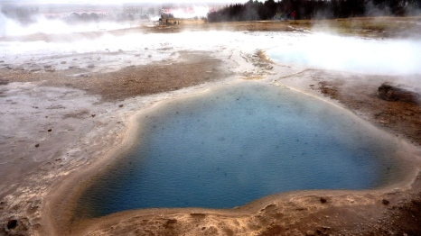 Geothermal pools in Geysir