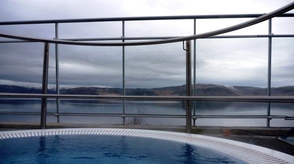 Krossneslaug geothermal swimming pool