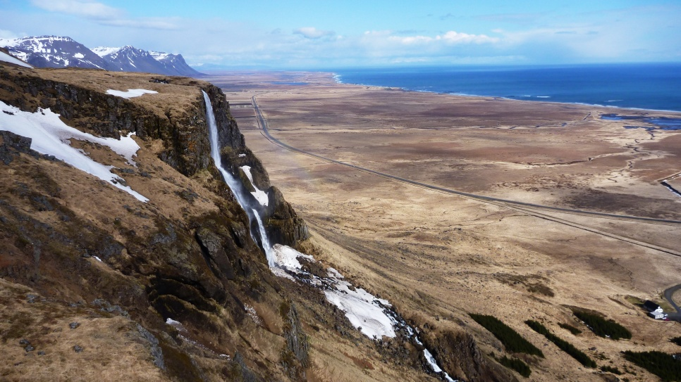 A hike we decided to do while driving somewhere in western Iceland