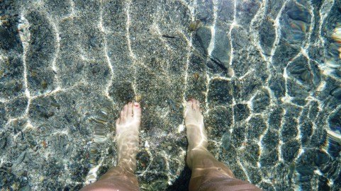Clear Mediterranean water