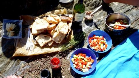 A serious picnic
