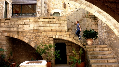 Courtyard in Girona