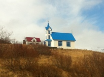Little church in Seydisfjordur