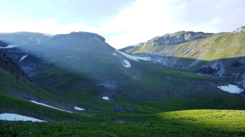 Narderans lookout, Jura Mountains
