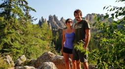 Curniss and Chris in the Black Hills