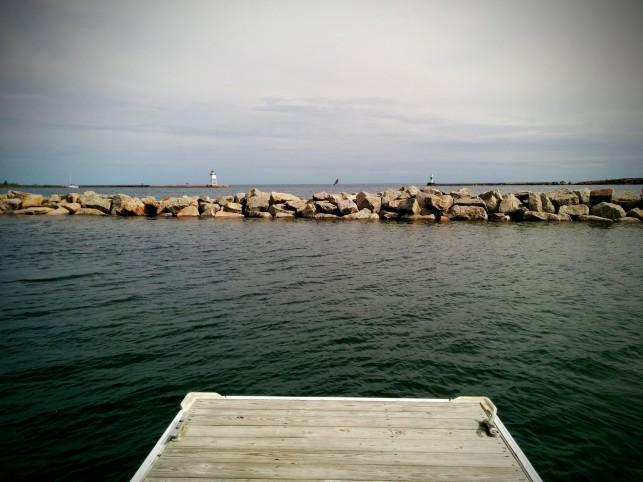 Grand Marais marina
