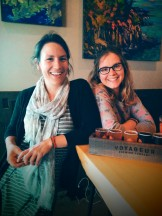 Curniss and Kelsey at the Voyageur Brewing Company