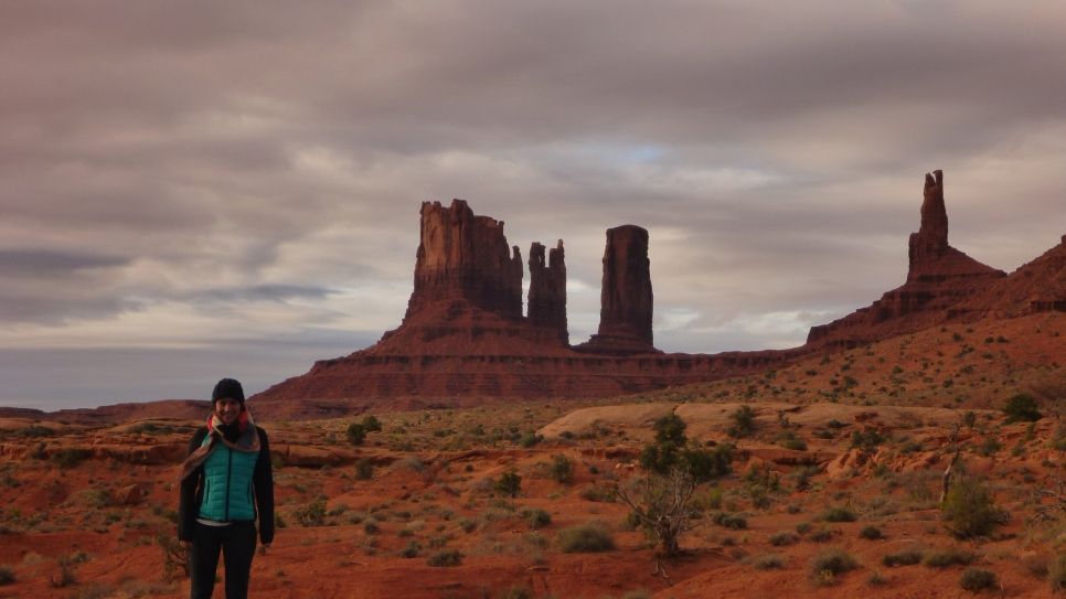 Curniss in Monument Valley
