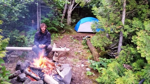 Campsite at Devil's Chair