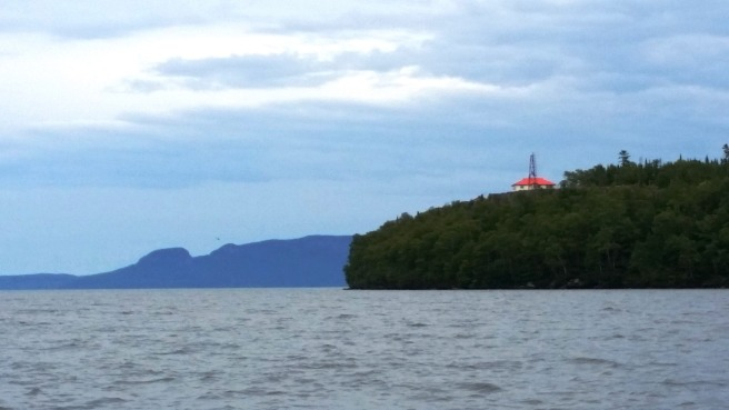 Welcome Island A and the head of the Sleeping Giant