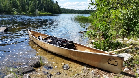 Our canoe: Patches