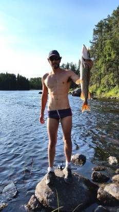 The biggest Northern Pike of the trip