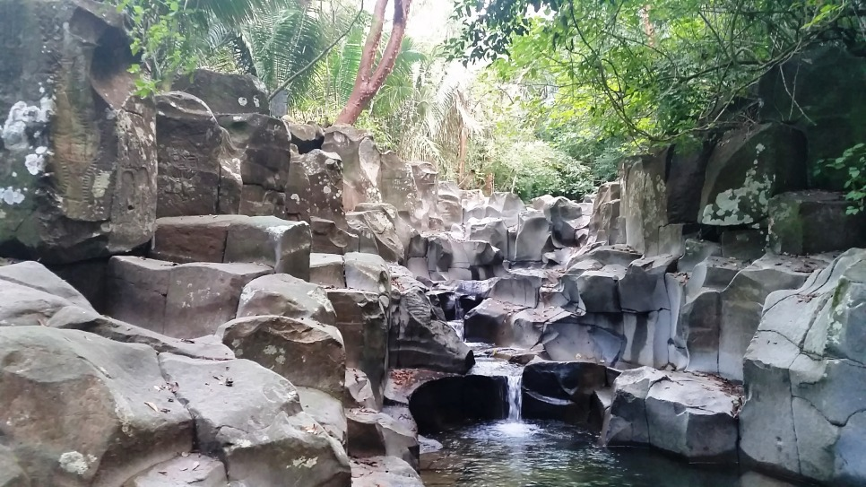 Beautiful cascading pools at the Alta Vista