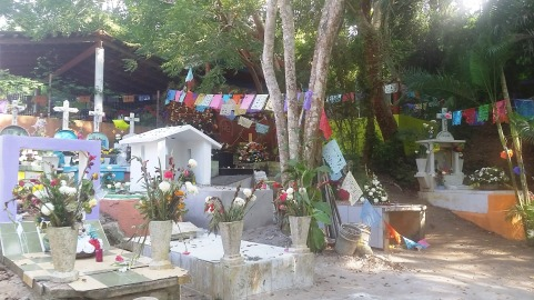 Sayulita Cemetary (on the way to Playa Los Muertos)