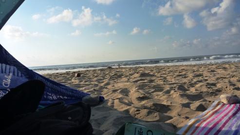 A Lazy afternoon at Playa Litibu