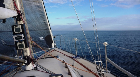 Beautiful sailing conditions