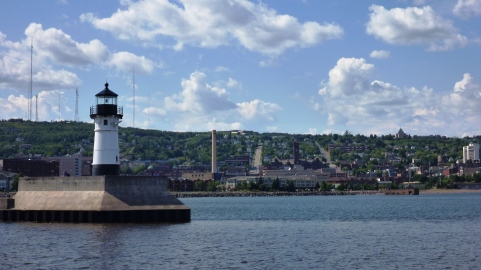 Duluth from the water