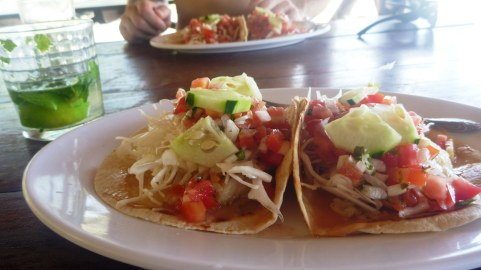 The best fish tacos