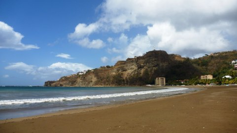 The beach at San Juan Del Sur