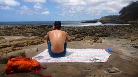 Our own little beach